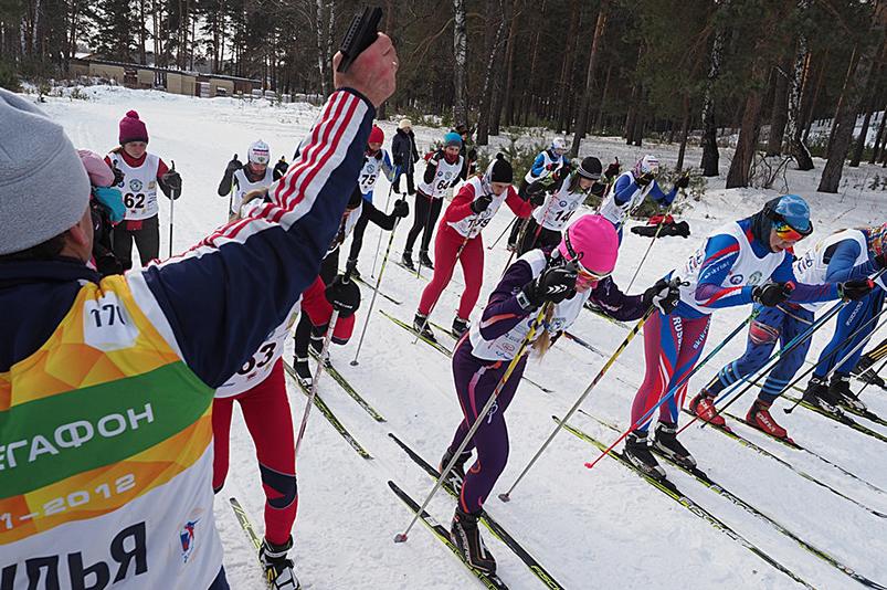 Всероссийский слет туристов-лыжников на границе Европы-Азии