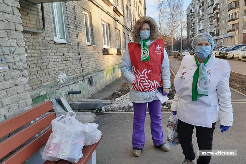 Волонтеры в Новоуральске